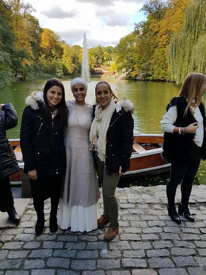 אהובה ארד ו2 בנות בגן סופיה