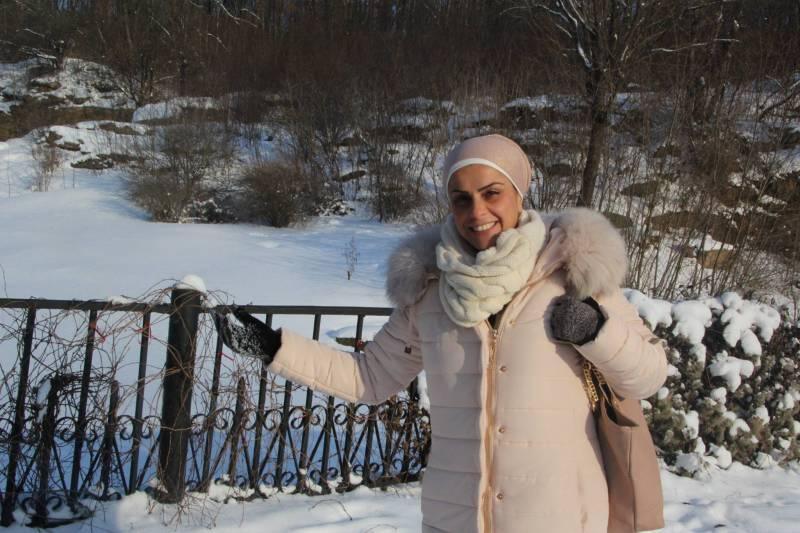 אהובה ארד בשלג